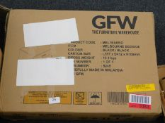 A GFW Melbourne bedside cabinet in black, RRP £30.99.