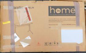 A 17 Stories white Venetia desk, RRP £119.99.