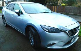A Mazda 6, Registration G19 GSP, diesel, four door saloon, 2.2lt (175), Sport Nav, automatic,