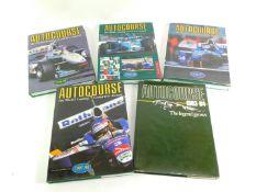 Autocourse, The World Leading Grand Prix annual, 1983-84, 1995-96, 1996-97, 1997-98 and 1998-99,