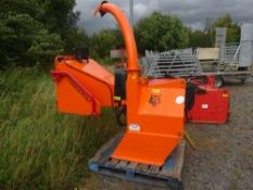 TIMBER WOOL CHIPPER C/W 2 SETS OF BLADES