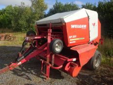 WELGER RP220 MASTER ROUND BALER DROP FLOOR FULL SET OF KNIVES WIDE PICK UP , ROTA FEED GWO