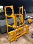 GRAYS BALE STACKER GRAB , EXTENDED VERSION 2001 SN C312297 (EURO 3 FITTINGS)