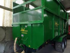 AW ULTIMA 14T TRAILER , 2012, C/W SILAGE SIDES, TYRES 445/65 R22.5