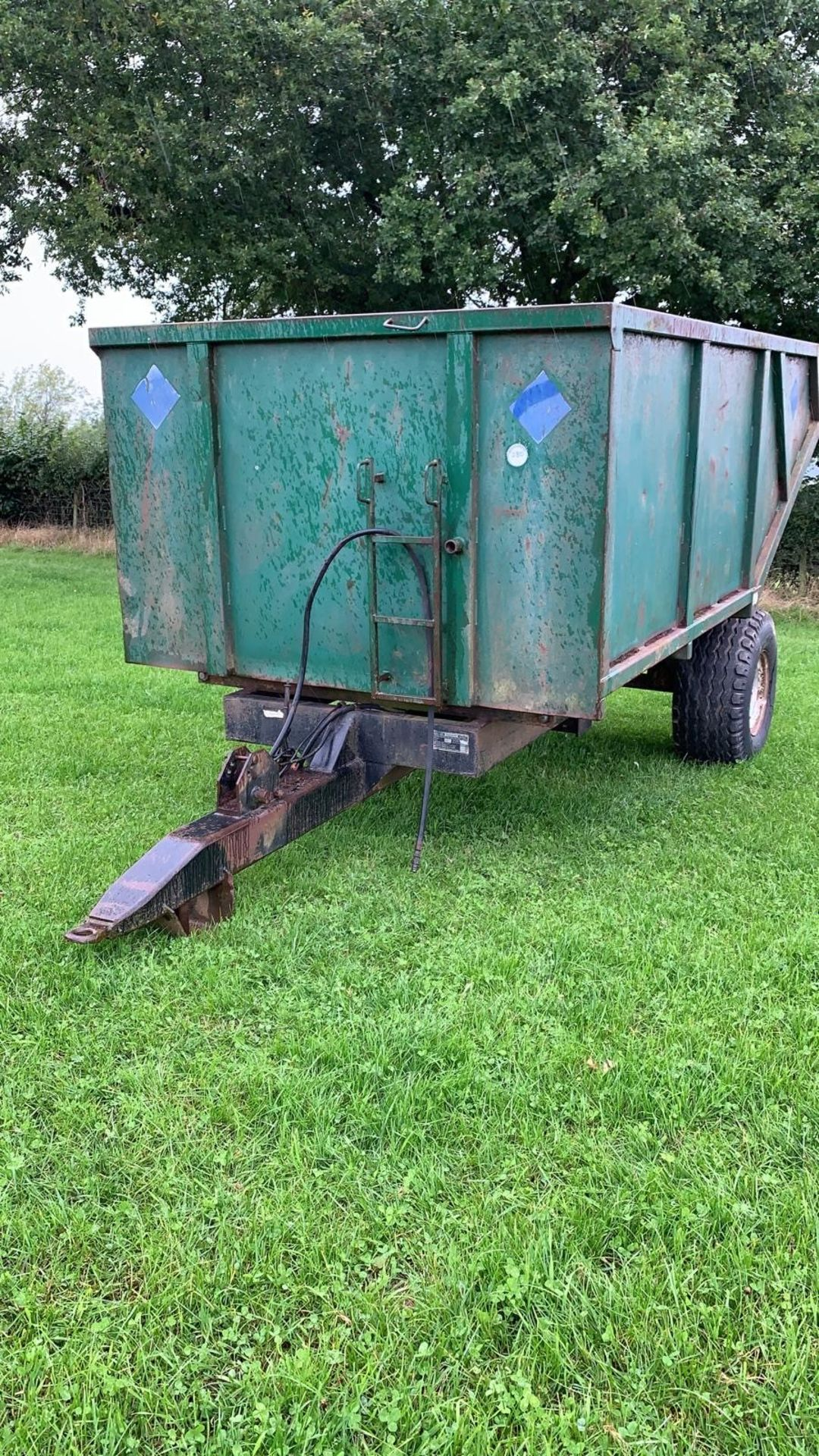Lot 280 - SALOP 6T TIPPING TRAILER