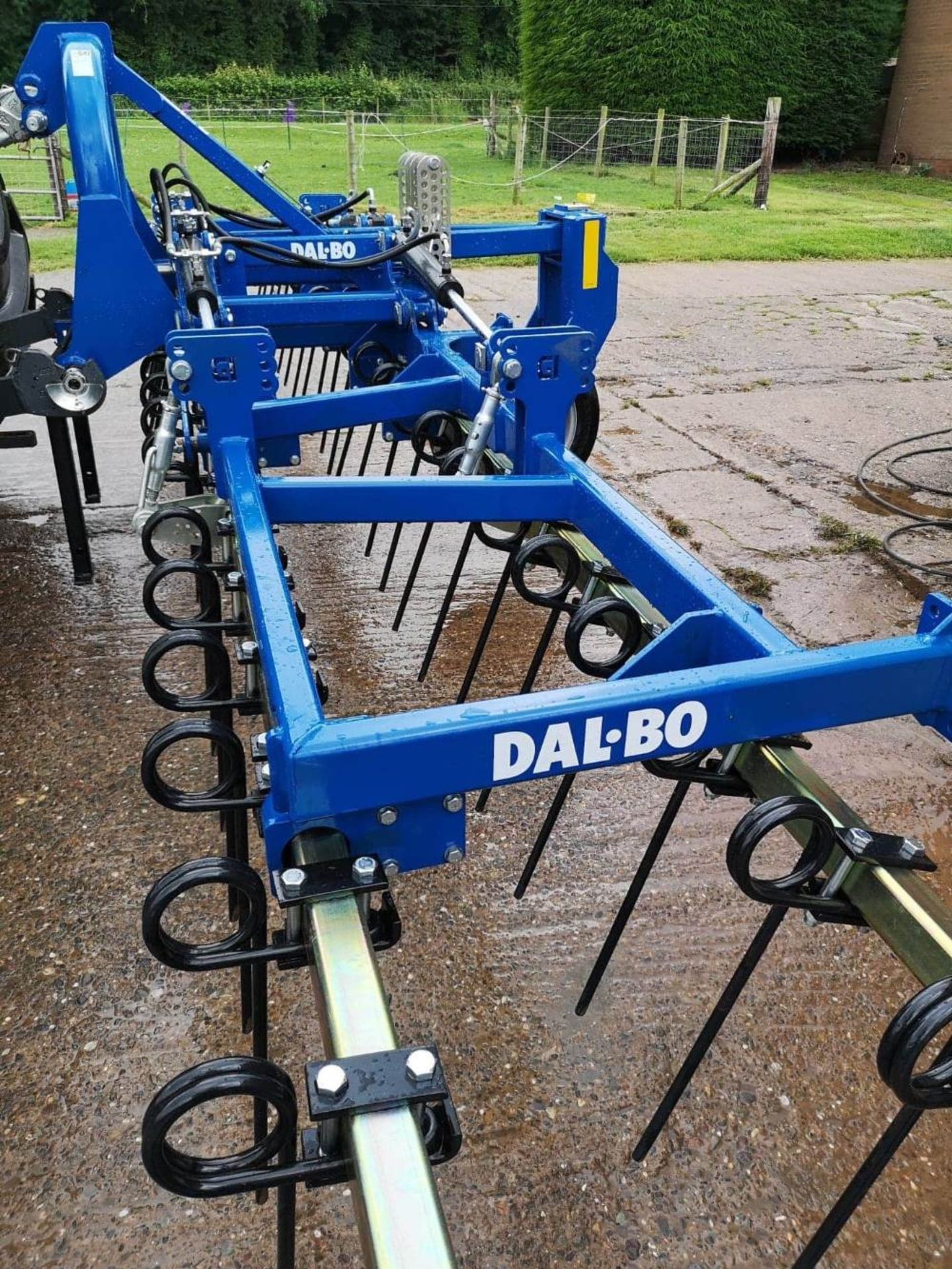 DAL-BO 6M FRONT MOUNTED STUBBLE HARROW, 2019