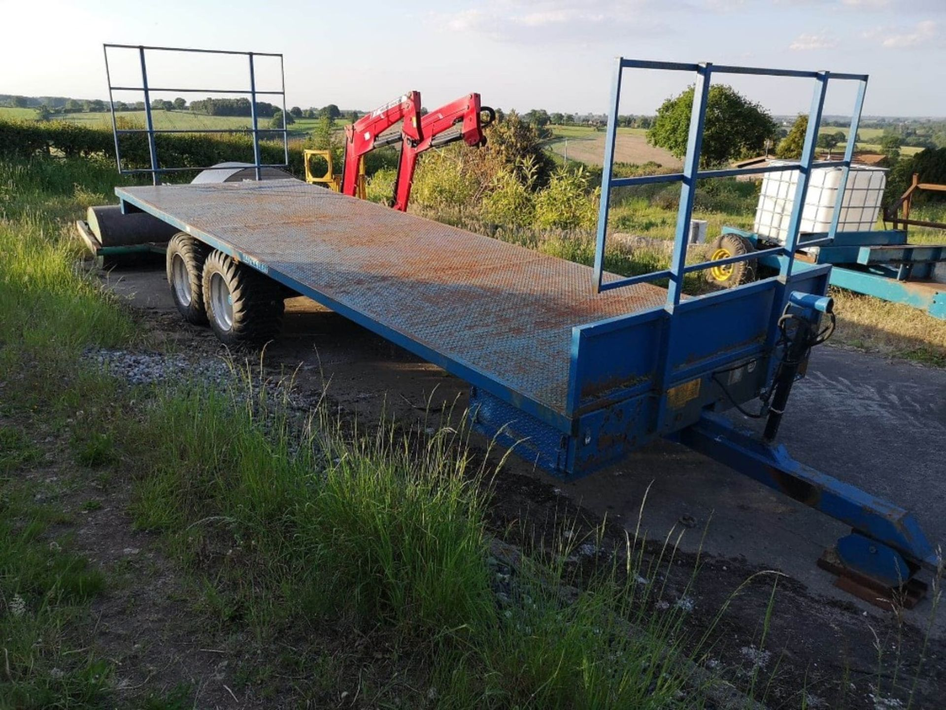 Lot 234 - M4 26'TWIN AXLE TRAILER,C/W FLOTATION TYRES 2009