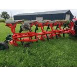 VOGEL NOOT XMS9SO VARIO PLOUGH AJ80 C/W MAIZE SKIMMERS, REAR DISC,HYD VARI WIDTH,HYD FRONT FURROW