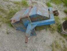 TRACTOR FRONT WEIGHT BLOCK