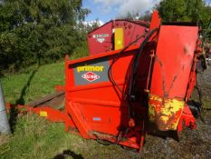 KUHN PRIMOR STRAW CHOPPER (MOUNTED CABLE CONTROL)