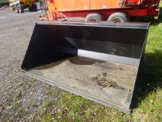 2.3M TELEHANDLER BUCKET 1.6M Q FIT BRACKETS NEW BUT SHOP SOILED