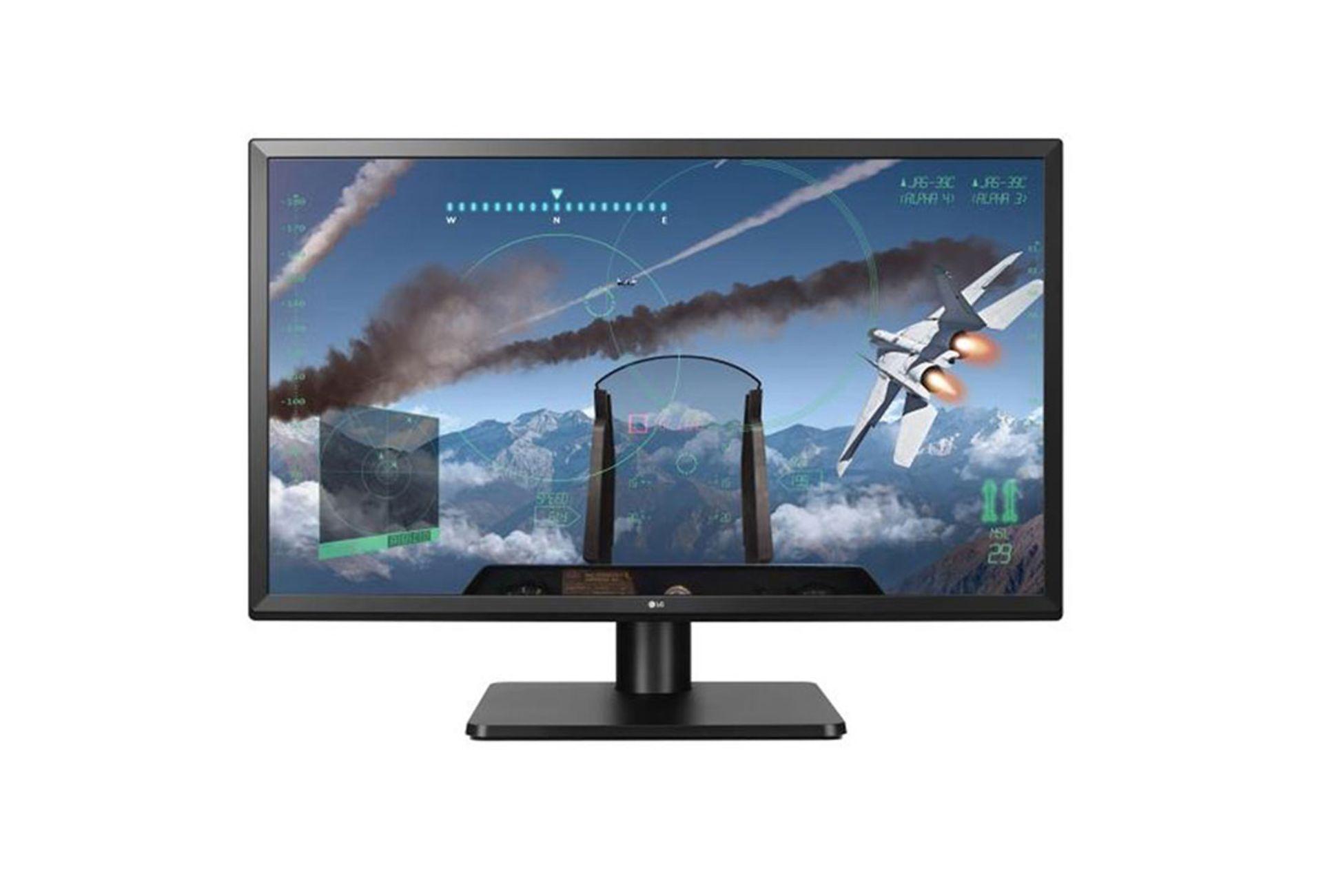 Lot 16022 - V Grade A LG 27 Inch 4K UHD IPS LED MONITOR - HDMI X 2, DISPLAY PORT X 1 27UD58P-B