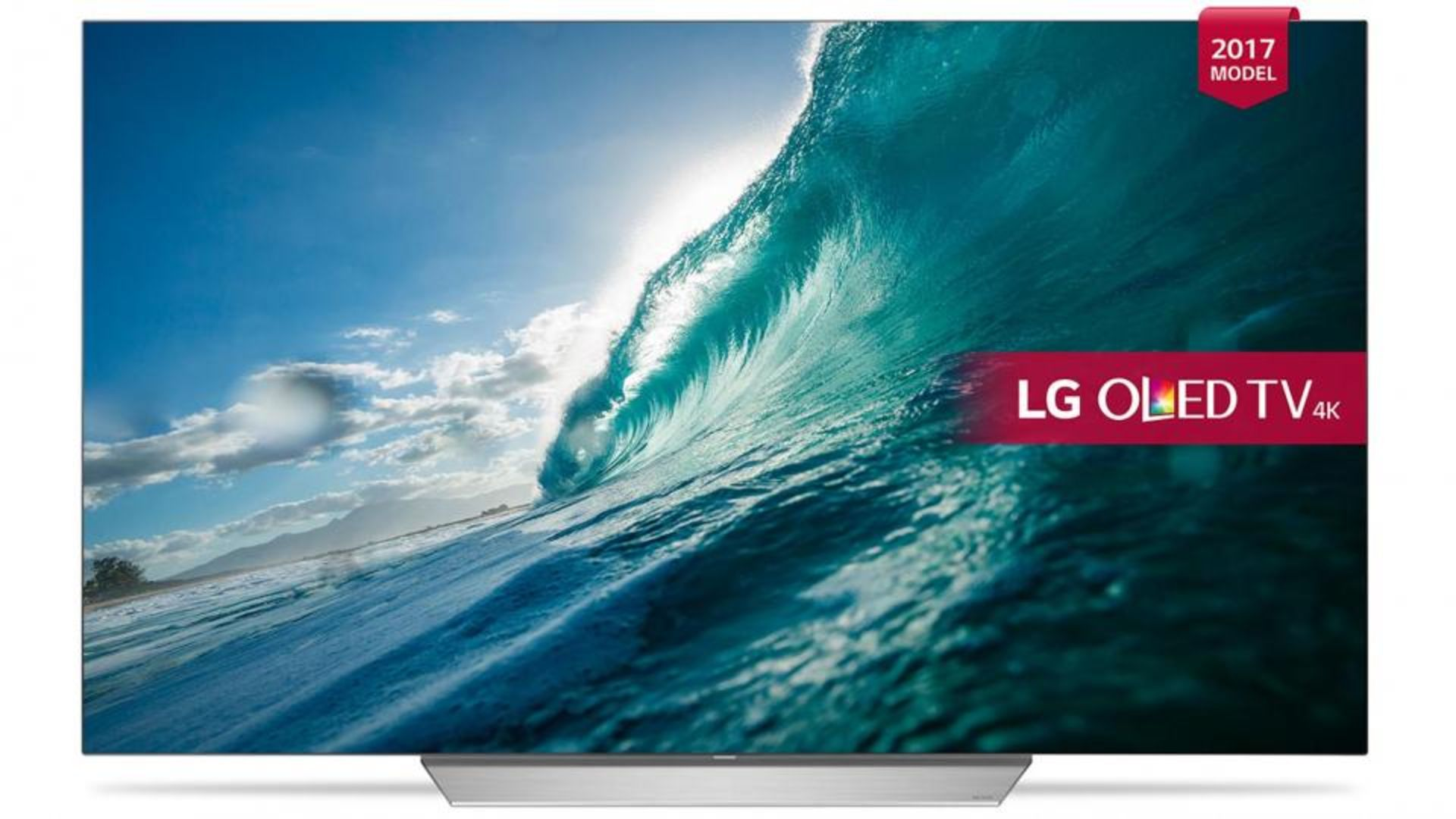 Lot 16000 - V Grade A LG 55 Inch FLAT OLED ACTIVE HDR 4K UHD SMART TV WITH FREEVIEW HD & WEBOS 3.5 & WIFI -