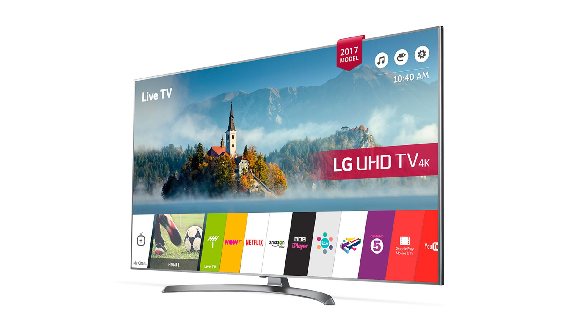 Lot 16015 - V Grade A LG 55 Inch ACTIVE HDR 4K ULTRA HD LED SMART TV WITH FREEVIEW HD & WEBOS & WIFI 55UJ750V
