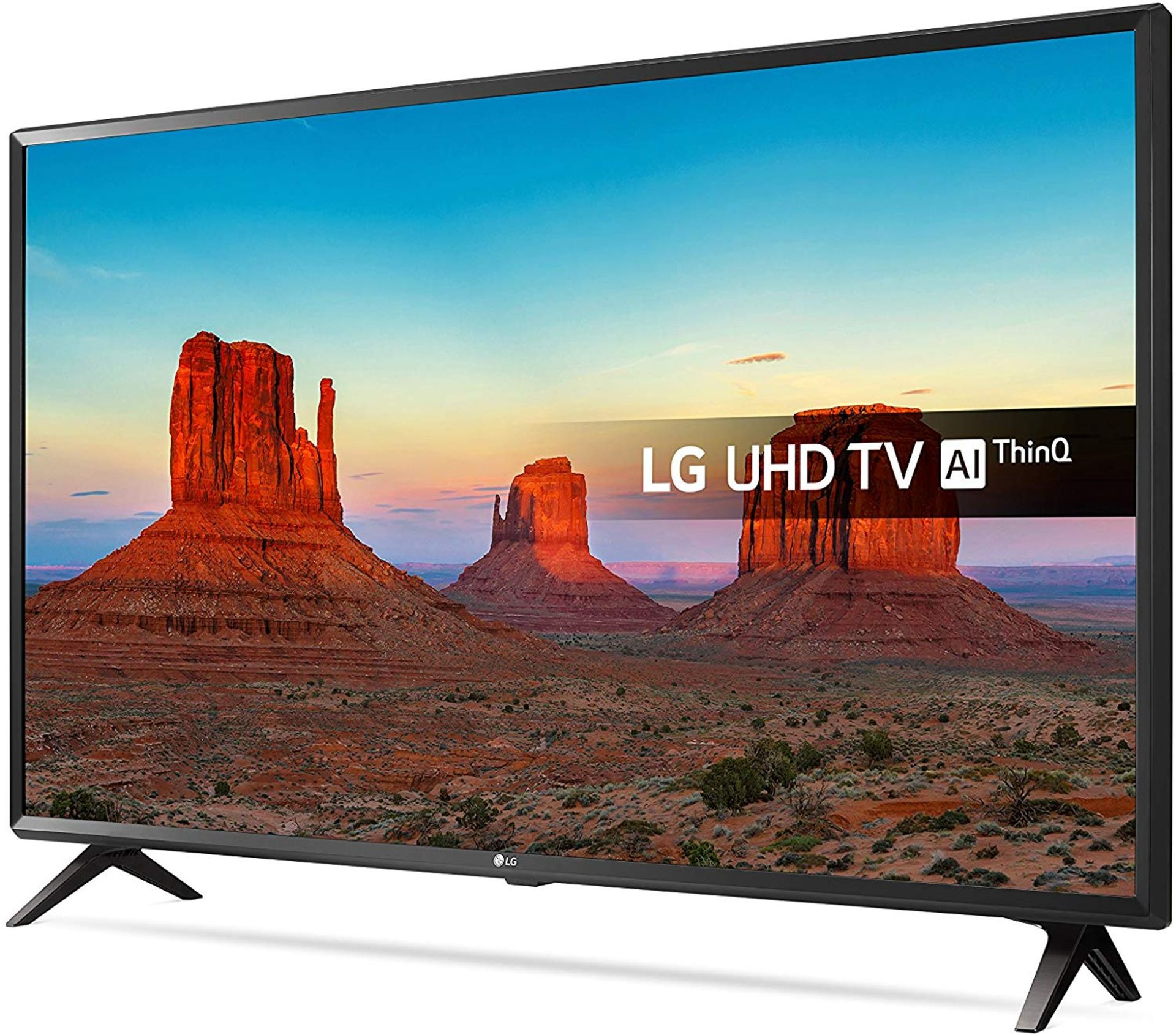 Lot 16001 - V Grade A LG 43 Inch ACTIVE HDR 4K ULTRA HD LED SMART TV WITH FREEVIEW HD & WEBOS & WIFI - AI TV