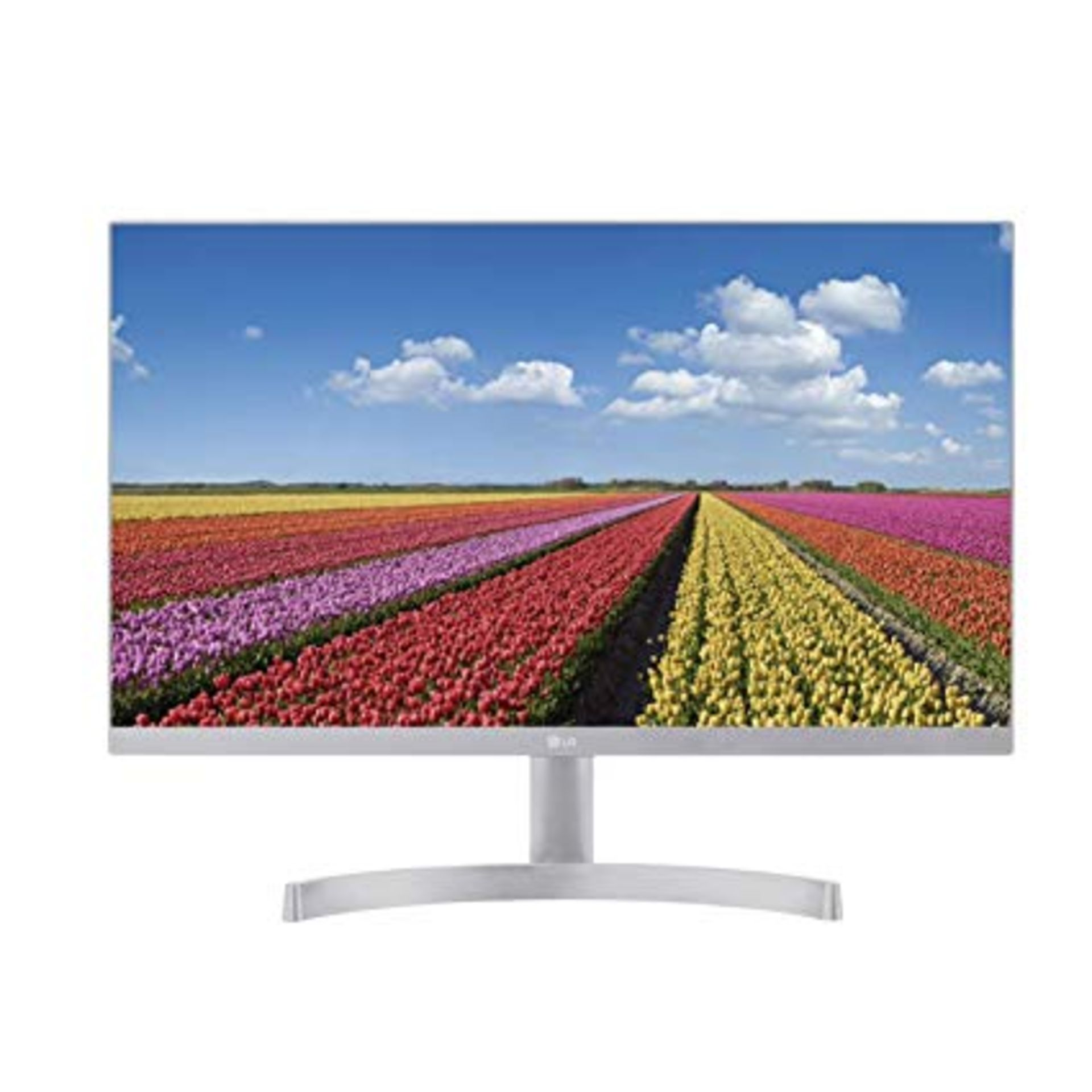 Lot 16032 - V Grade A LG 24 Inch FULL HD IPS LED MONITOR - HDMI X 2, D-SUB - WHITE 24MK600M-W