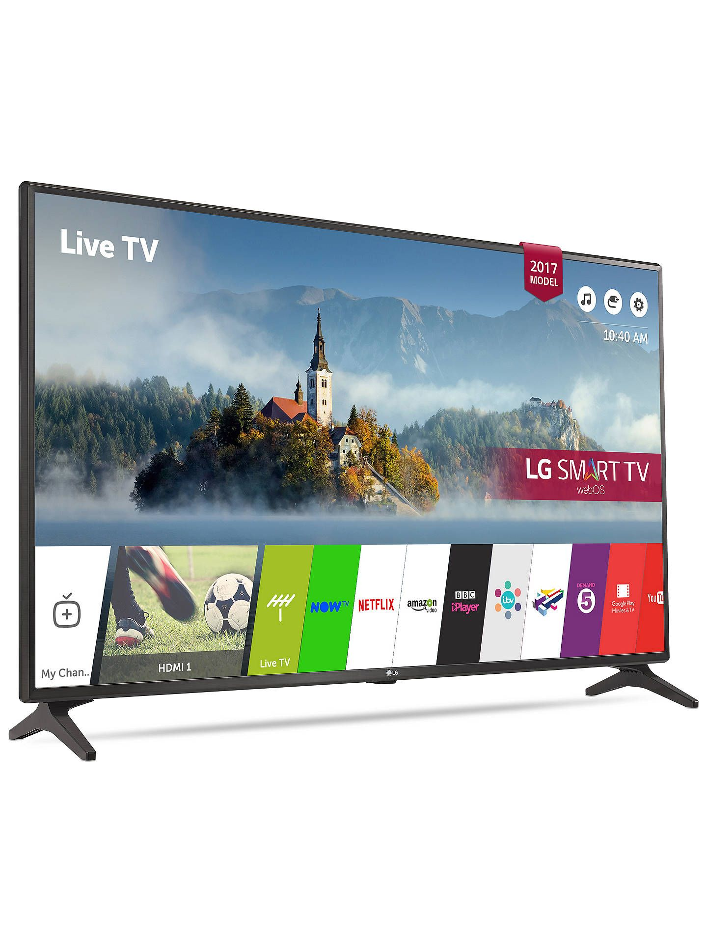 Lot 16049 - V Grade A LG 43 Inch FULL HD LED SMART TV WITH FREEVIEW HD & WIFI 43LJ594V