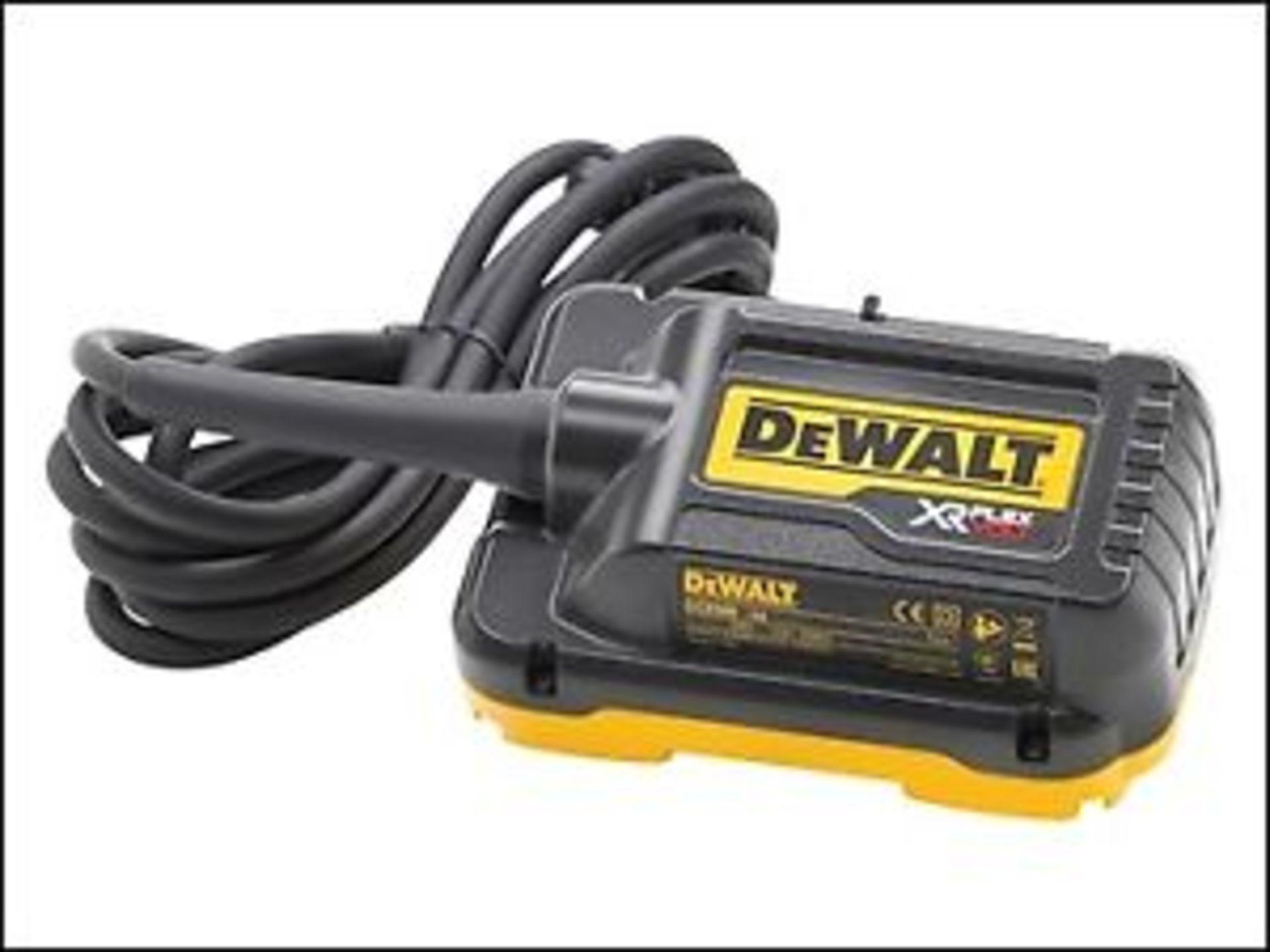 Lot 17009 - V Brand New DeWALT XR Flex Volt 110v Main Adapter For 2x 54V
