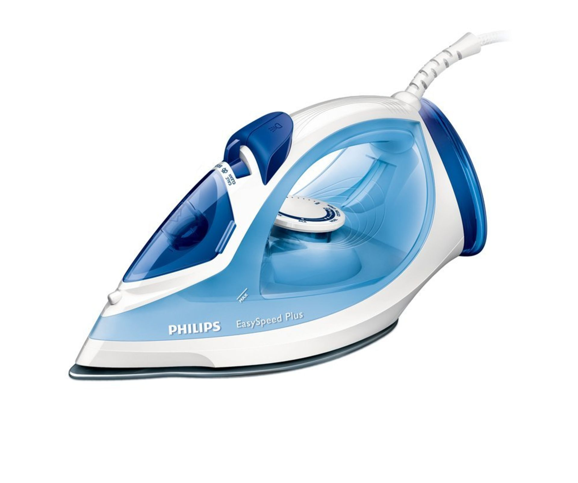 Lot 13184 - V Brand New Philips EasySpeed Non-Stick Steam Iron - £26.75 on Amazon - 2300W - Triple Precision Tip