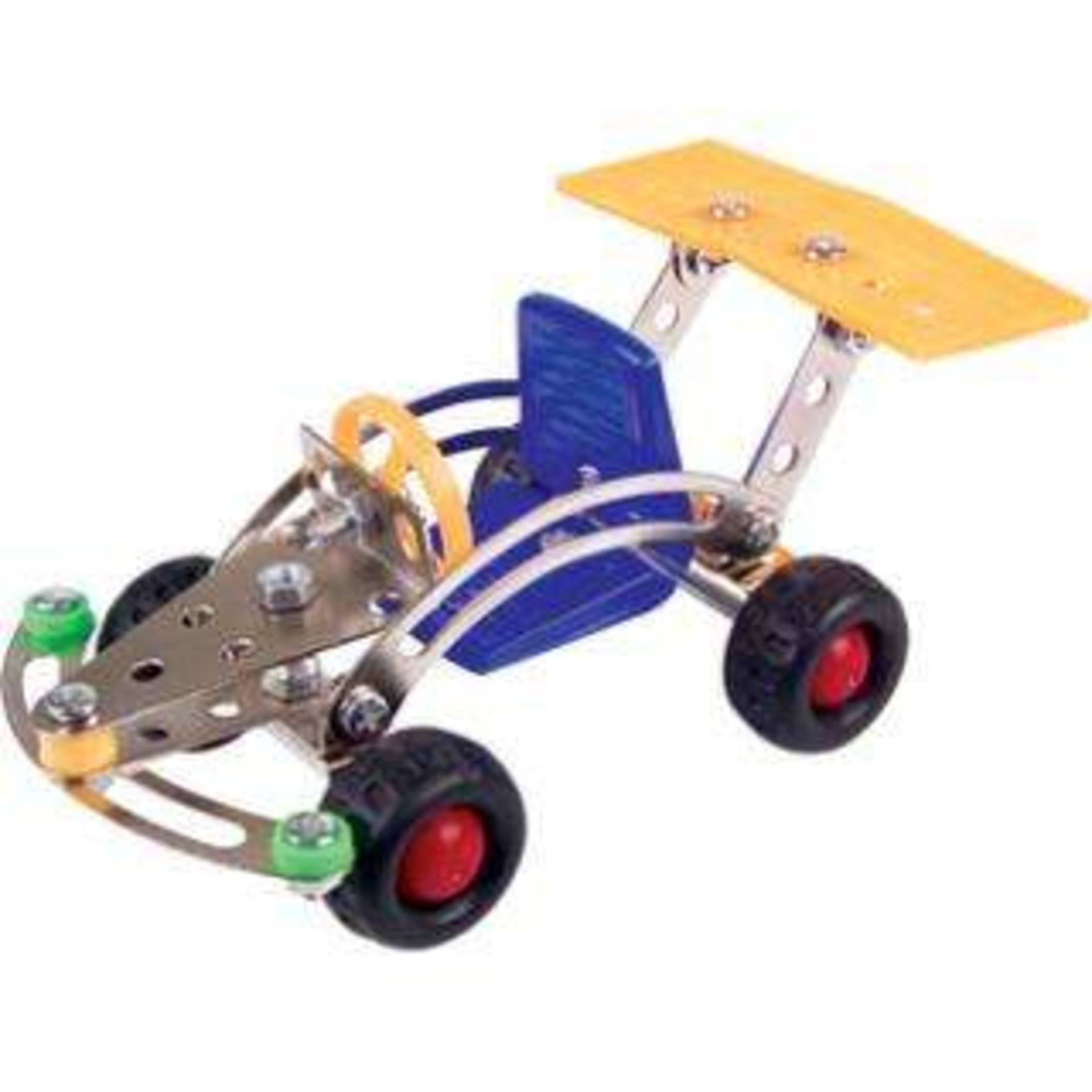 Lot 10794 - V Brand New Small Meccano Style Set Assorted - Builds Cars - Planes - Motorcycles etc