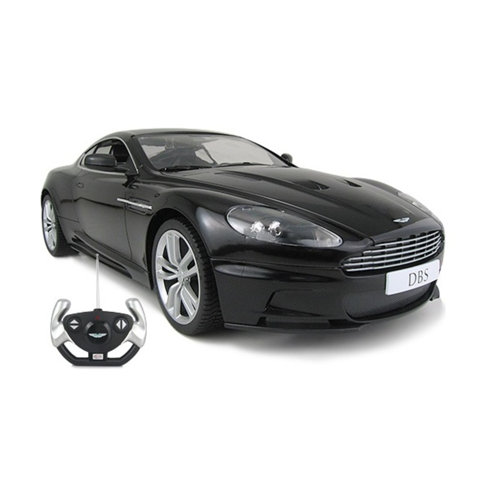 Lot 11664 - V Brand New Aston Martin DBS Coupe 1/10 Scale (Very Big) - Radio Control - Assorted Black & Silver