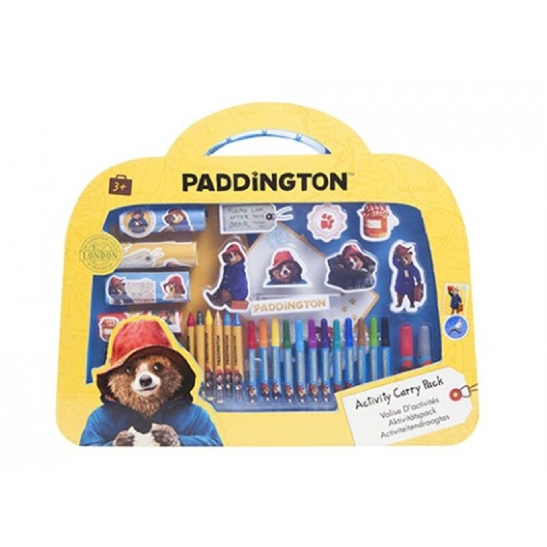 Lot 12570 - V Brand New Paddington Bear Large Activity Set In Suitcase Box ISP £15.89 (ebay)