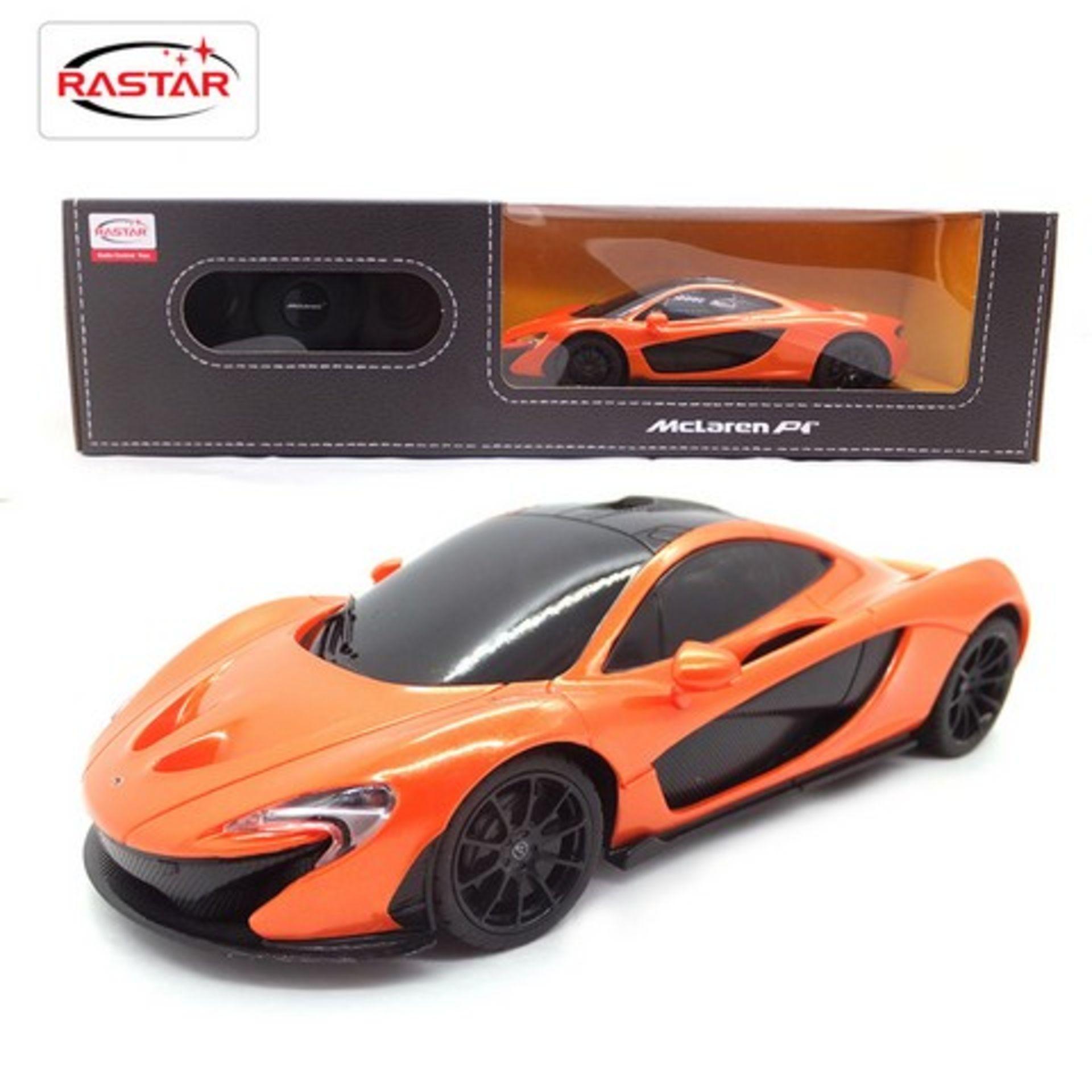 Lot 12407 - V Brand New McLaren P1 Full Function Radio Controlled Car - ISP £22.99 (Amazon) Similar Product