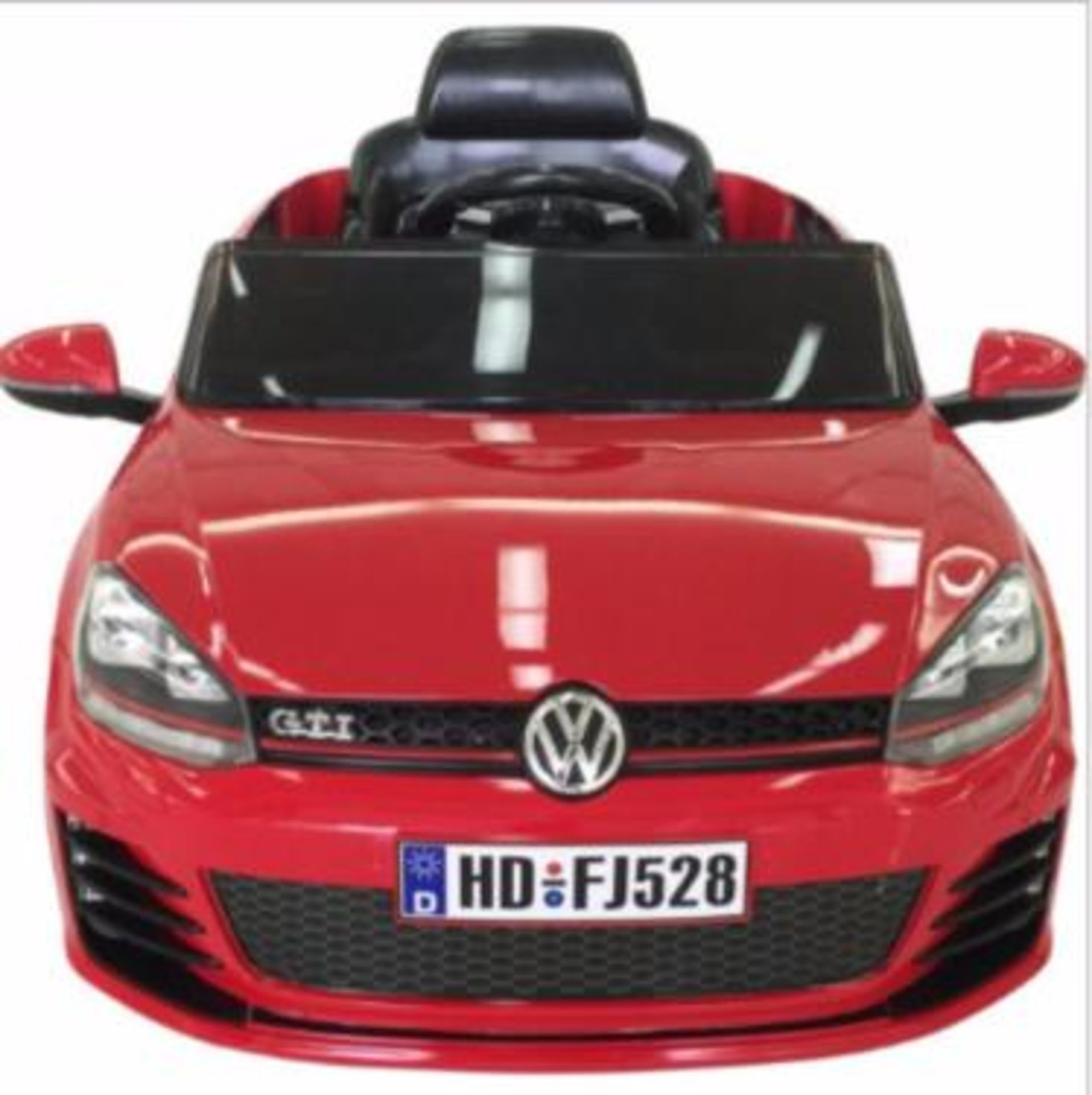 Lot 11614 - V Brand New Ride In Golf GTi VW Licensed 1:4 Scale Design With 2.4G One-2-One Code Remote Control-