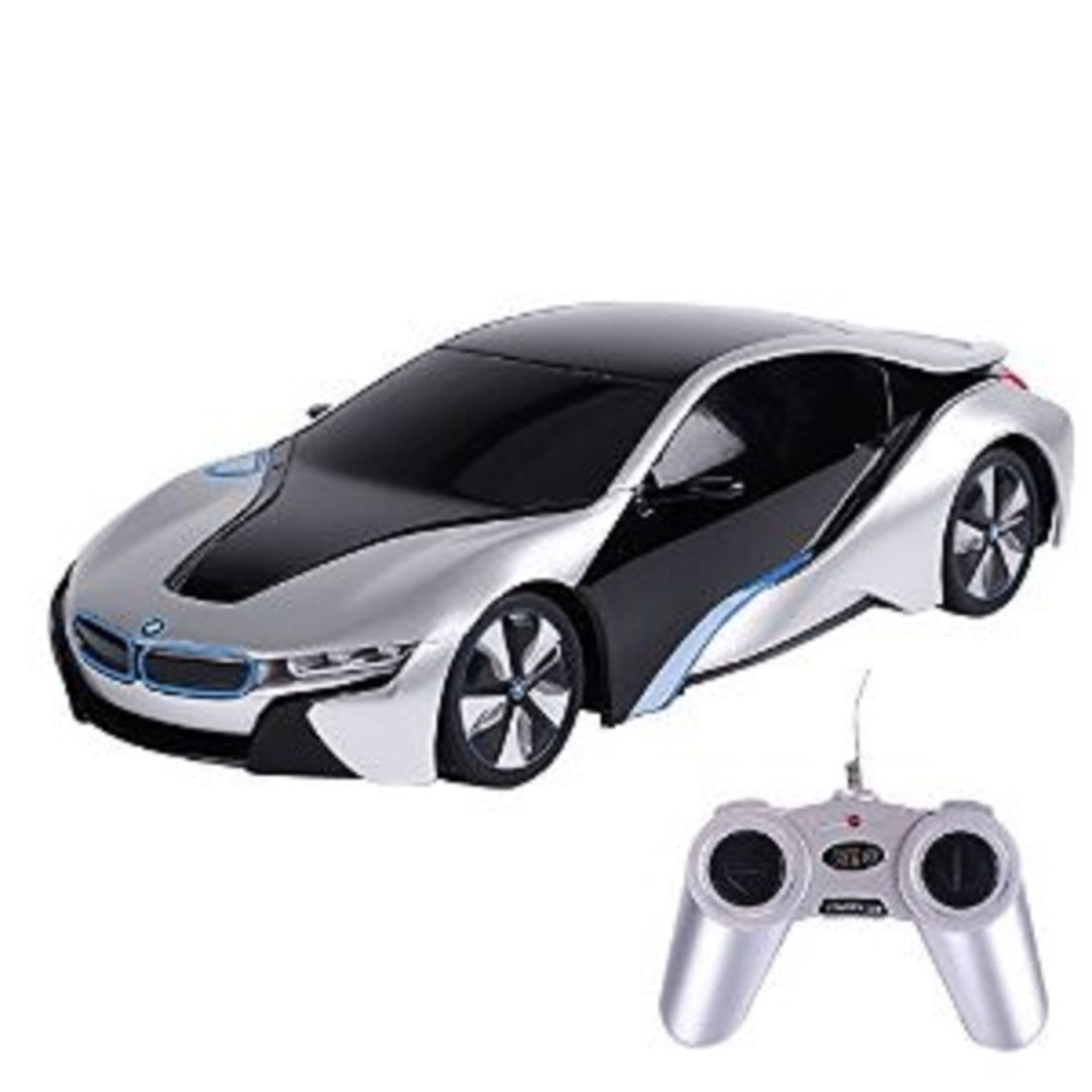Lot 12410 - V Brand New Officially Licensed R/C 1:24 BMW I8 - White - eBay Price £41.00