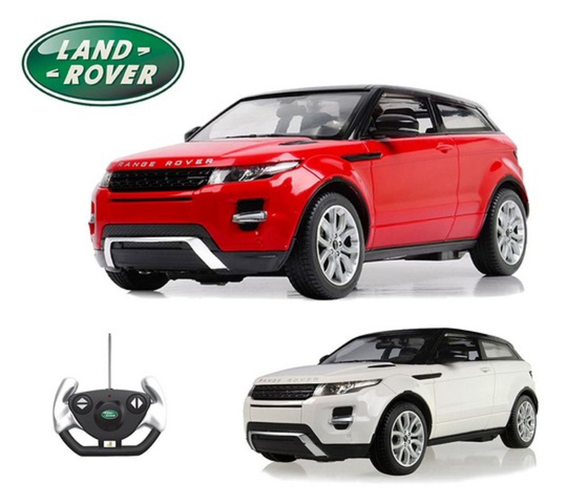 Lot 12050 - V Brand New R/C 1:14 Scale Range Rover Evoque - Amazon Price £37.00 - Colours May Vary