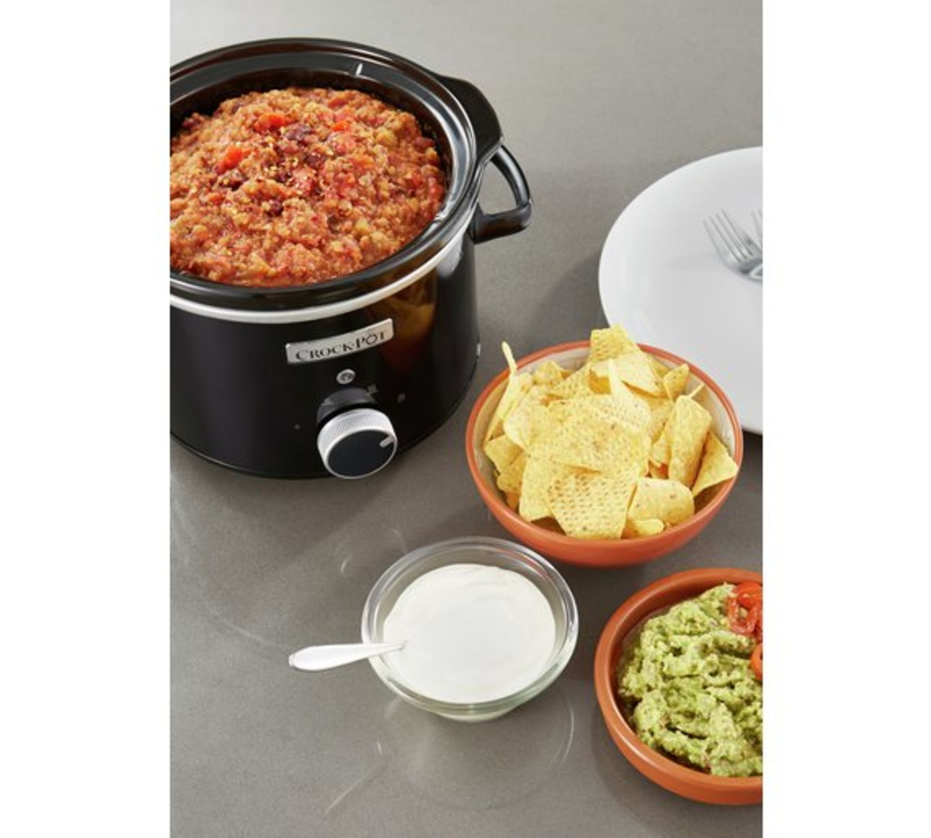 Lot 13269 - V Brand New 2.4L Crock-Pot Slow Cooker - £31.99 at Espares.co.uk - Black - Dishwasher Safe - Oven