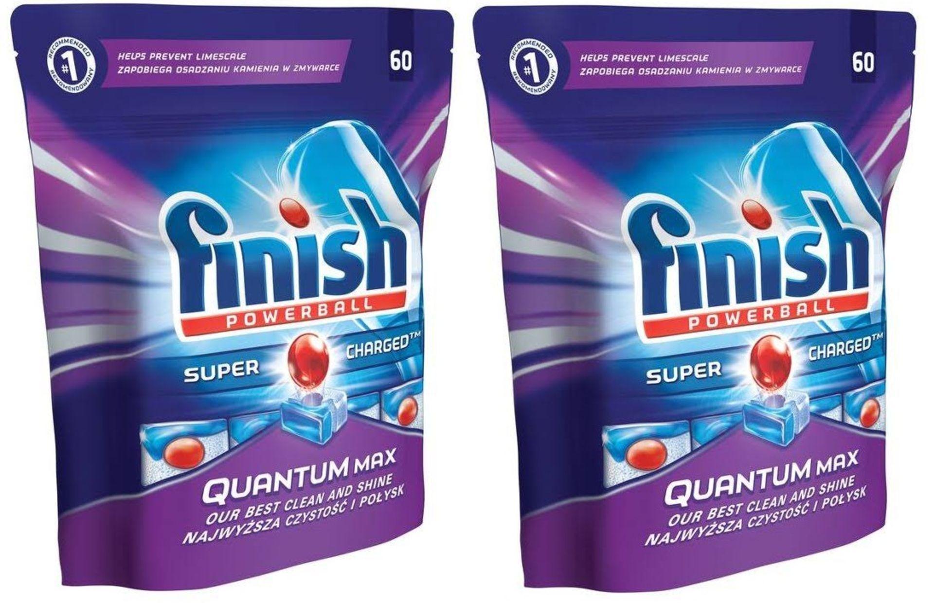 Lot 13159 - V Brand New Finish Quantum Max 120 Dishwasher Capsules