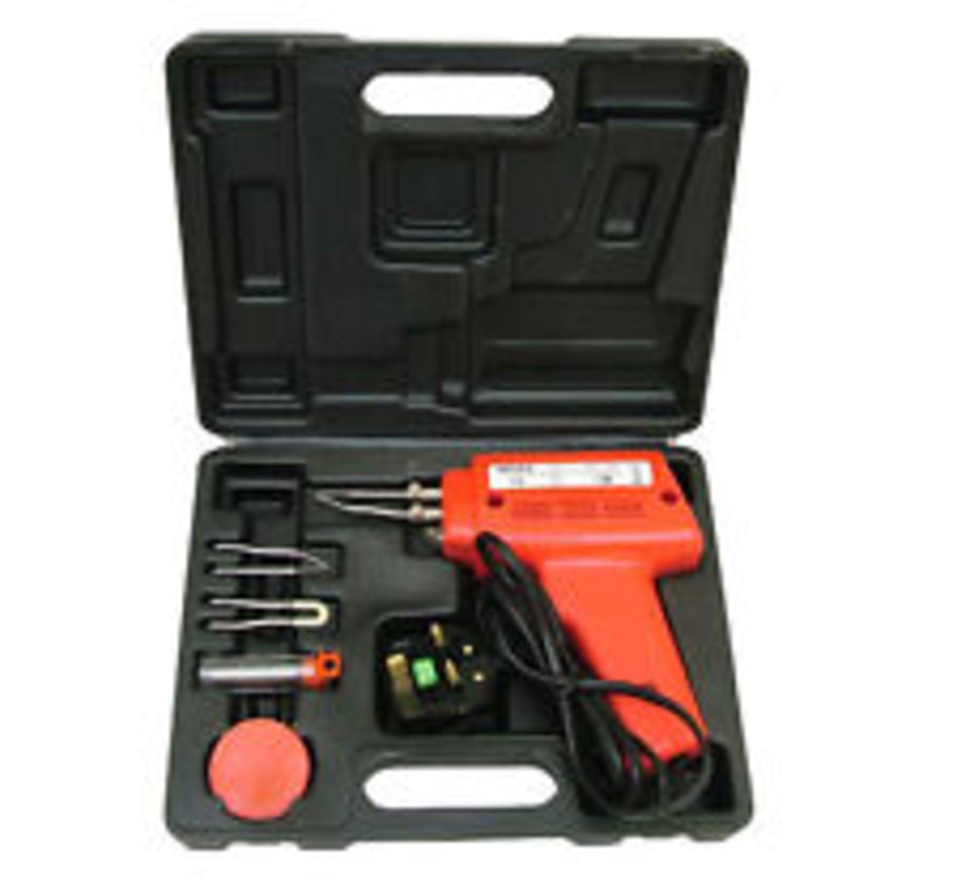 Lot 13612 - V Brand New 175 Watt Electric Soldering Gun Kit
