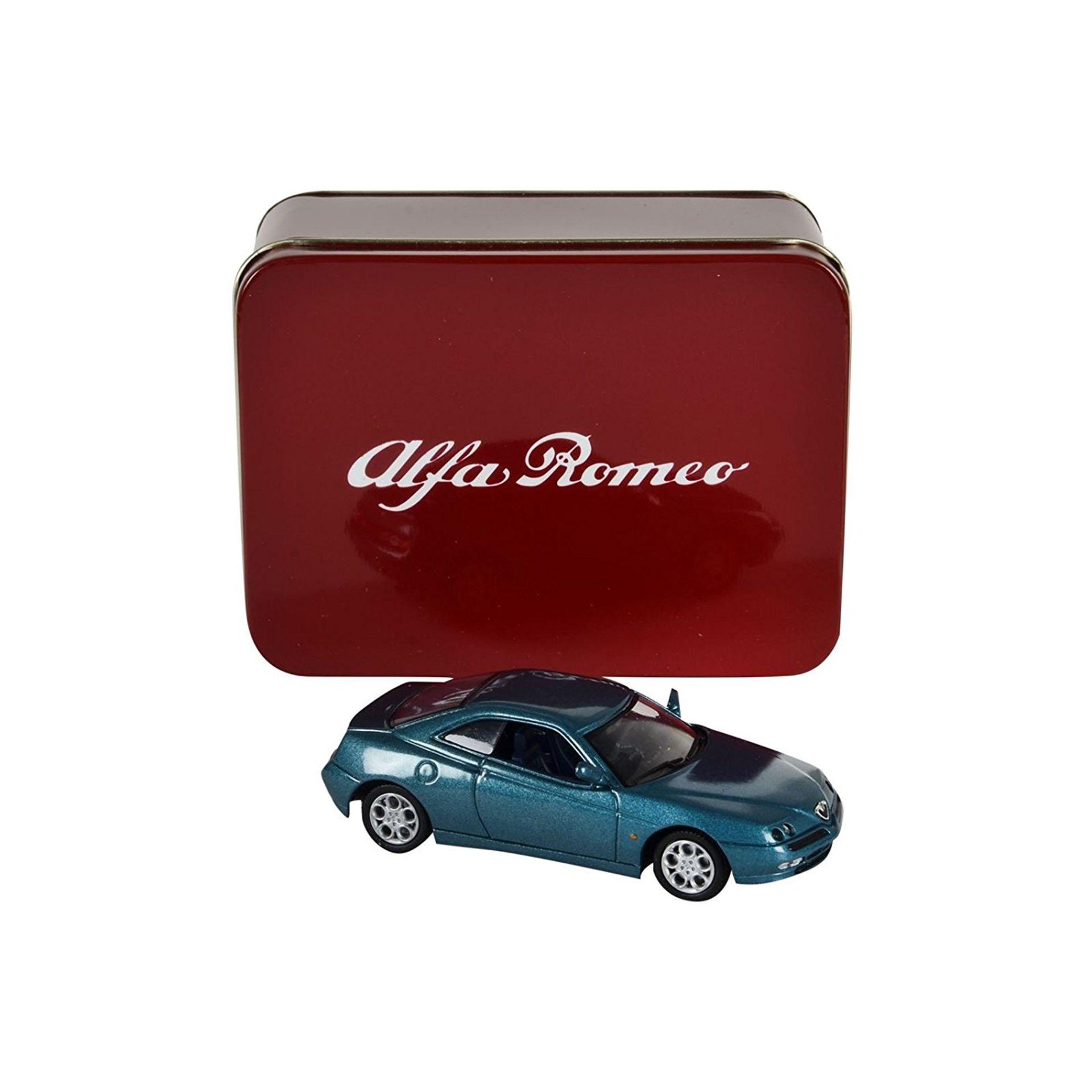 Lot 10374 - V Brand New 1/43 Diecast Model 1995 Alfa Romeo GTV - RRP £14.99