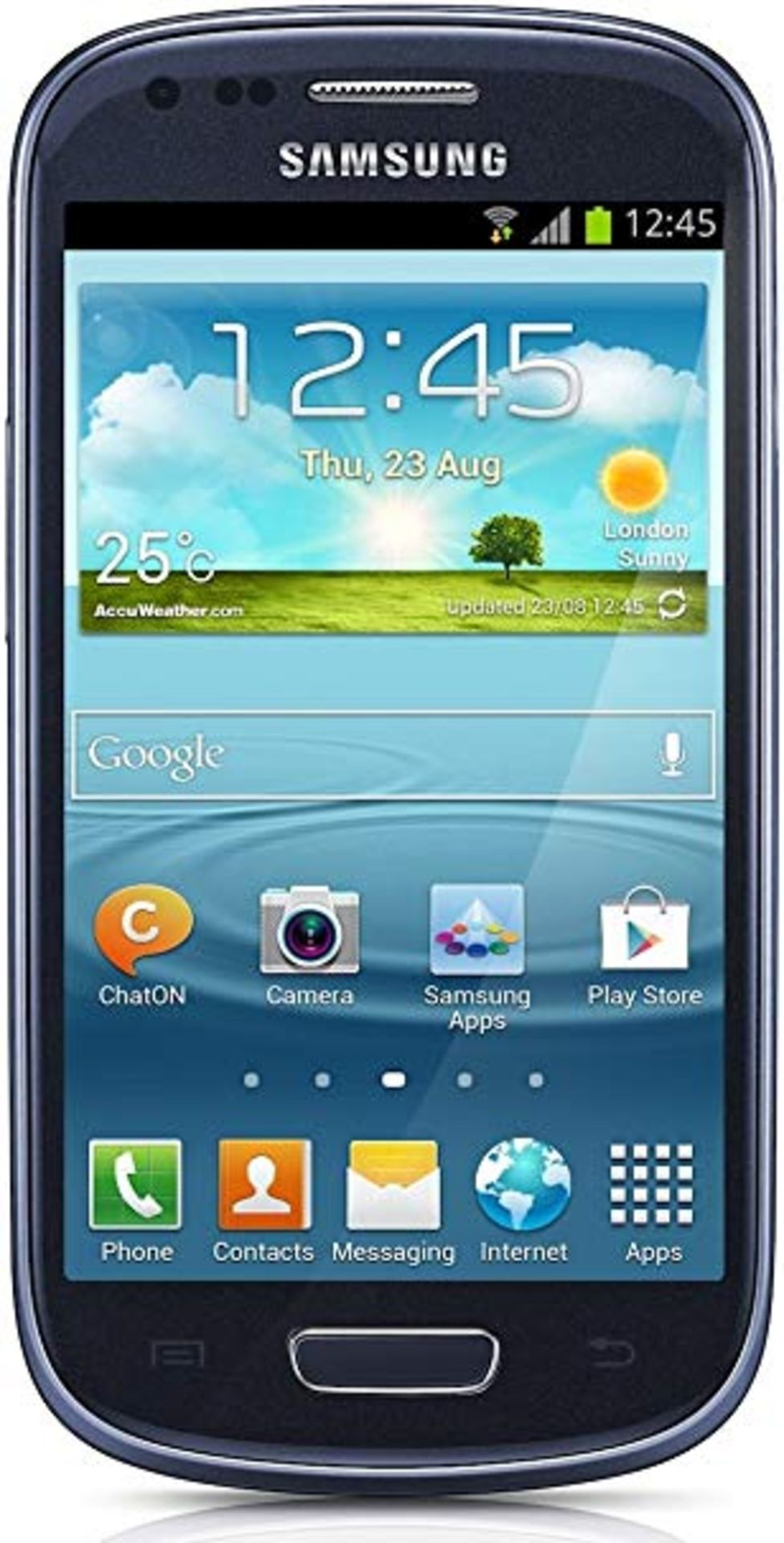 Lot 12068 - Grade A Samsung S3 Mini(I8190) Colours May Vary Item available approx 15 working days after sale