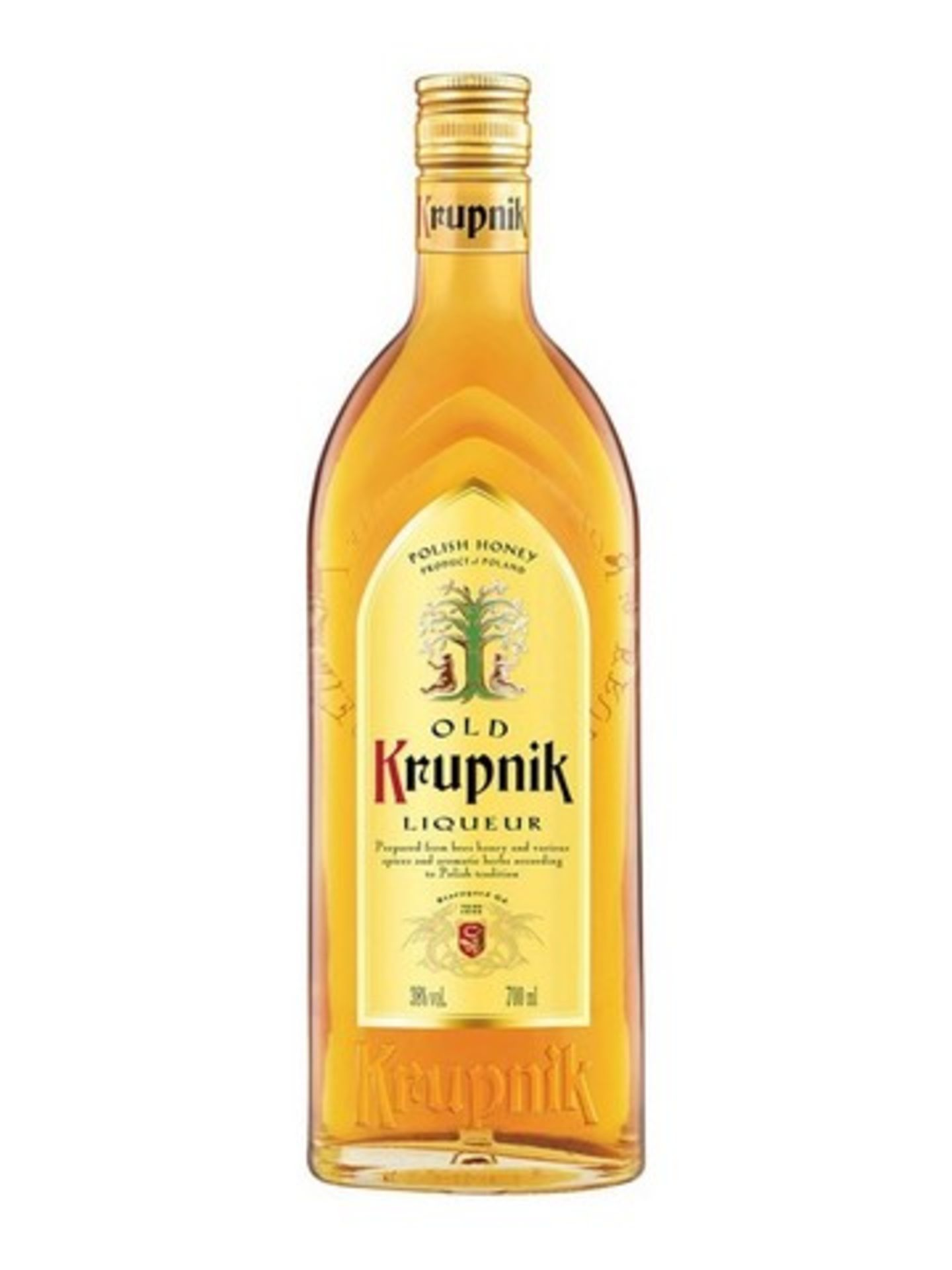 Lot 12421 - V Brand New Krupnik Honey Flavour Vodka 700ml - Online Price £23.50 (Distillers Direct)