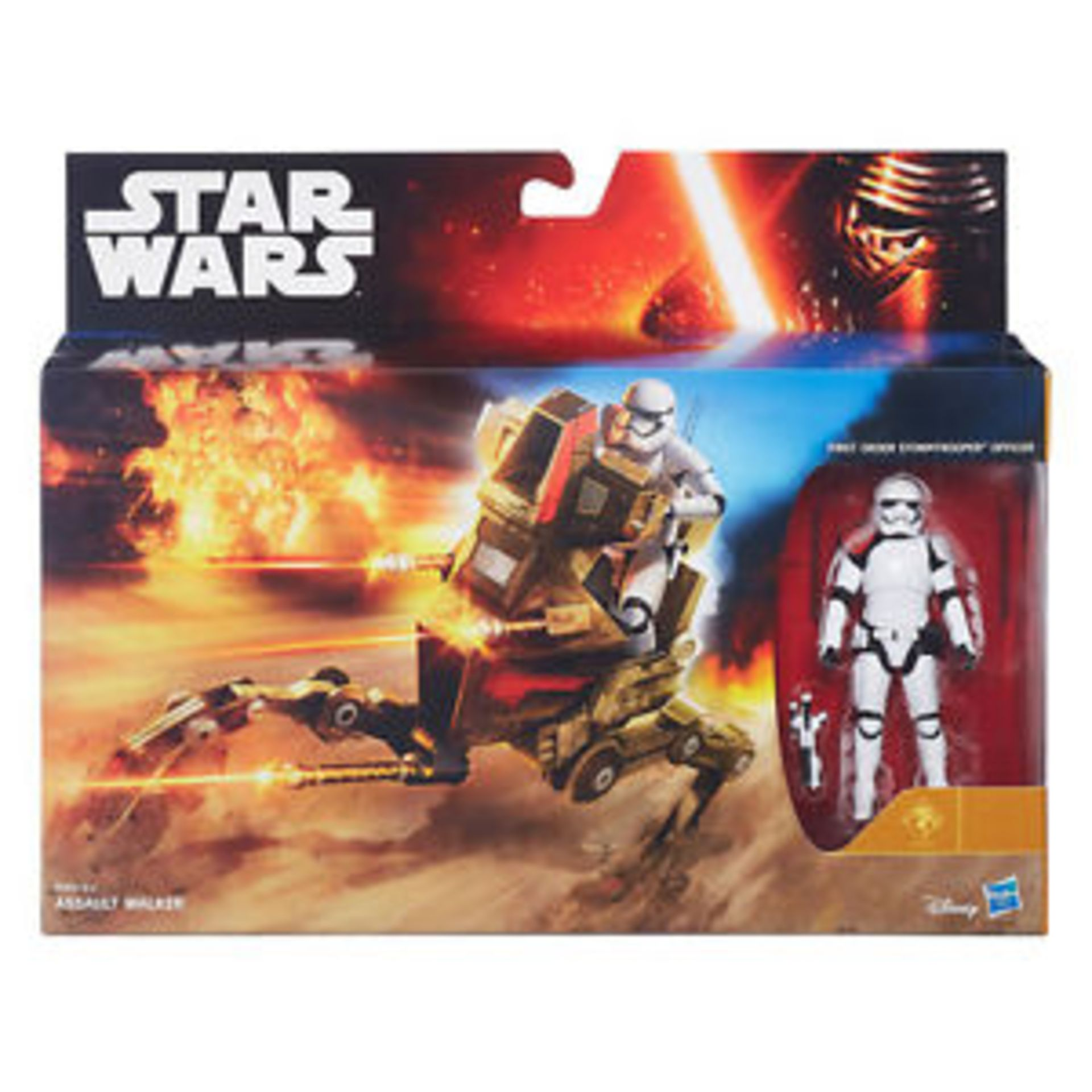 Lot 12405 - V Brand New Star Wars The Force Awakens Desert Assault Walker - Online Price £32.99 (My Geek Box)
