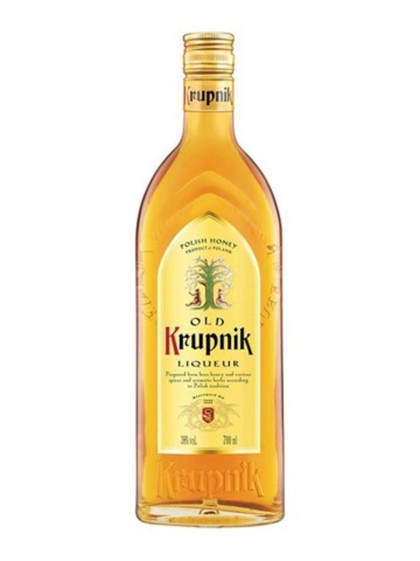 Lot 12976 - V Brand New Krupnik Honey Flavour Vodka 700ml - Online Price £23.50 (Distillers Direct)