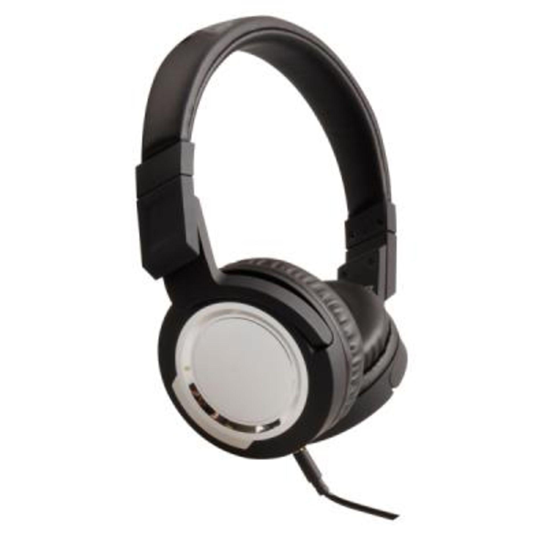 Lot 10796 - V Brand New On-Earz DJ Headset - High Definition - Crazy Bass & Crystal Clear Sound - Rotating Ear