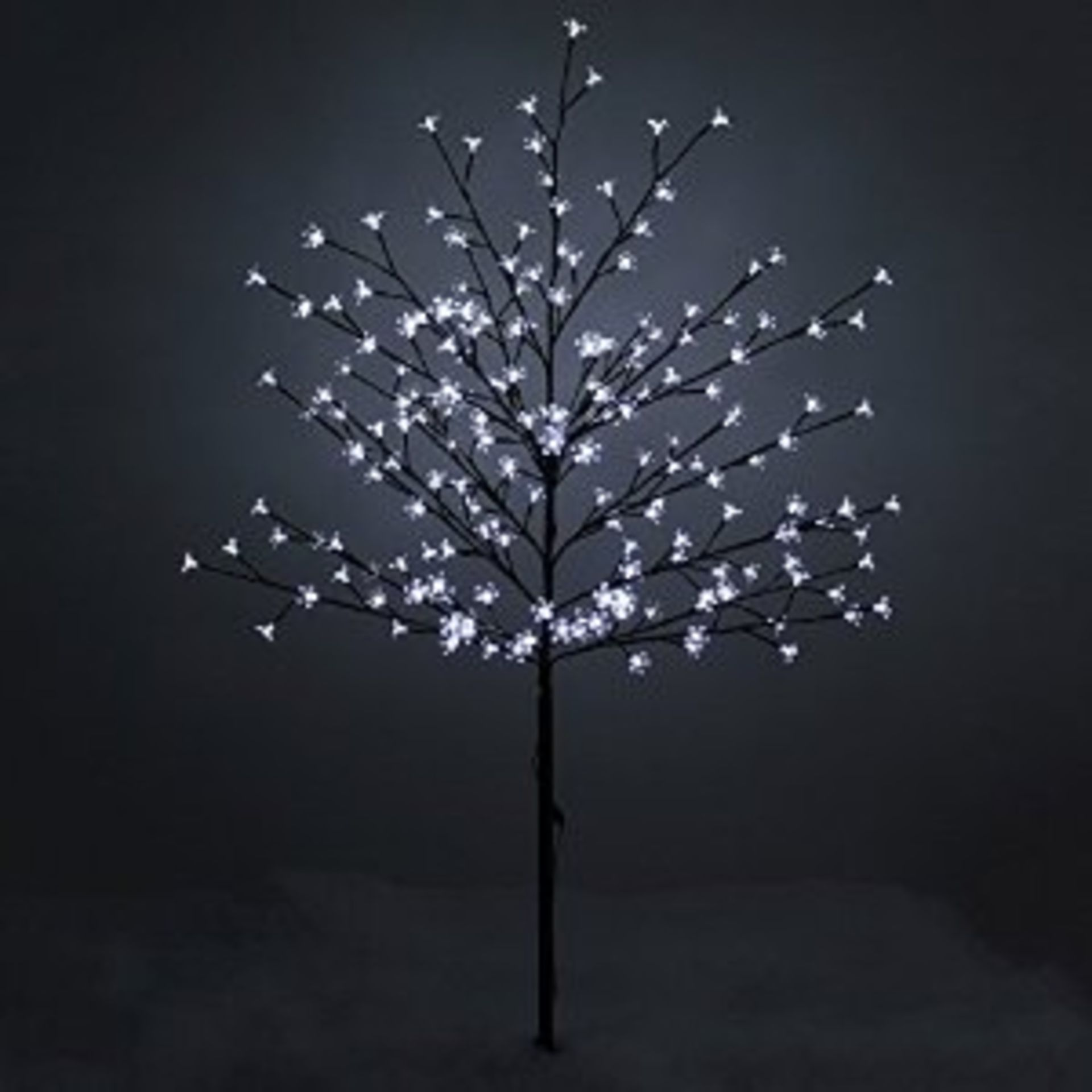 Lot 11963 - V Brand New 150cm Snow White LED Blossom Tree For Indoor And Outdoor Use RRP £54.99
