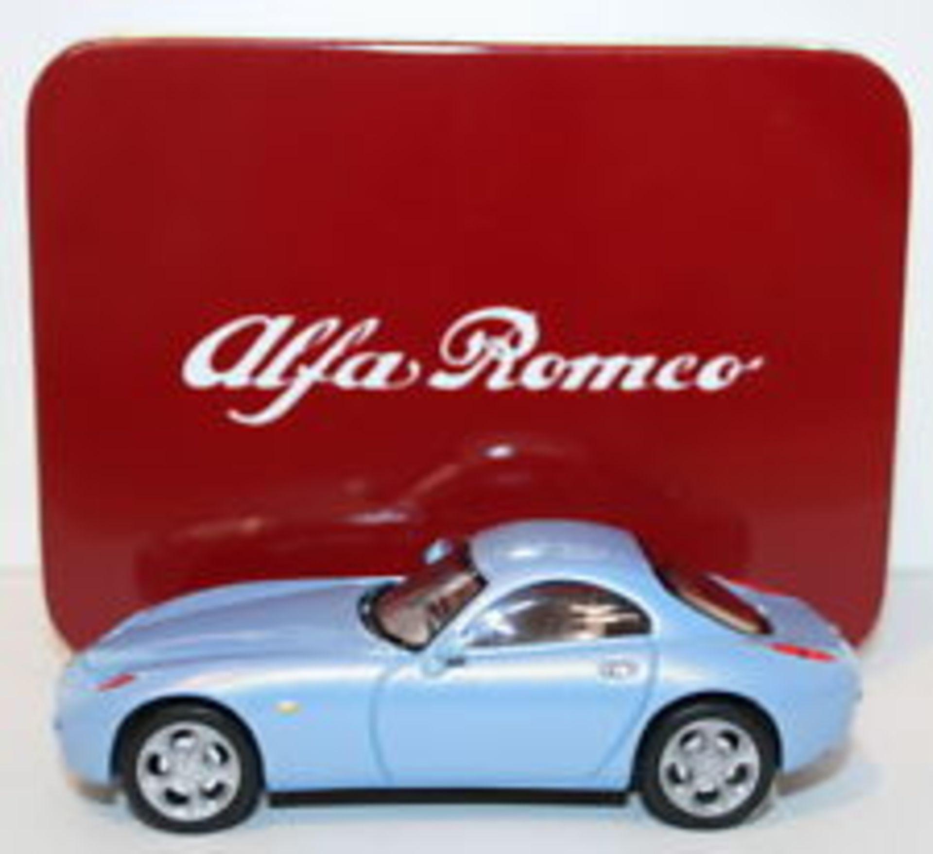Lot 10382 - V Brand New Alfa Romeo 166 Die Cast Model Car - Colours May Vary