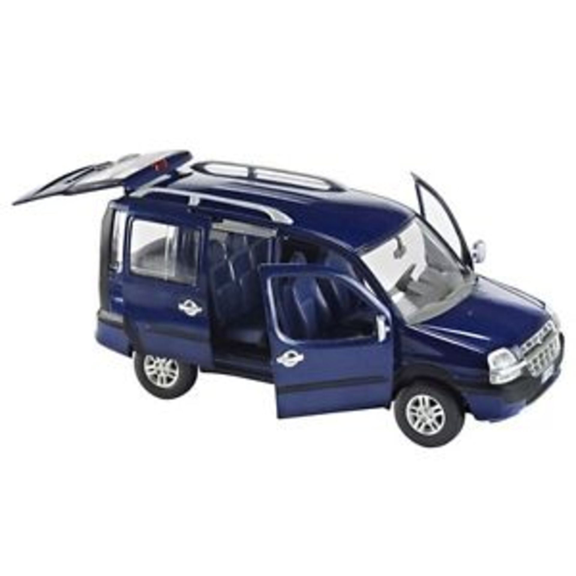 Lot 10034 - V Brand New 1/24 Die Cast Fiat Doblo Malibu - eBay Price £16.99