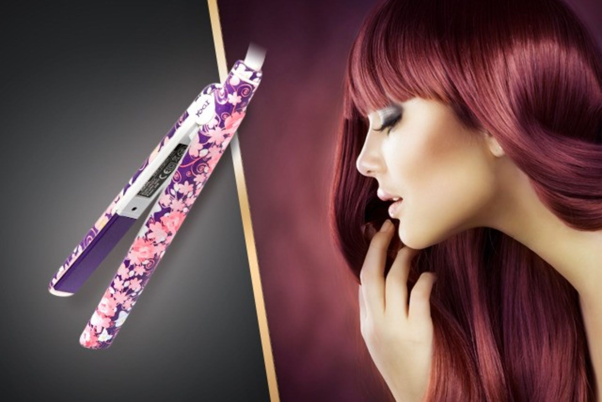 Lot 10772 - V Brand New Yogi Hair Straighteners With Ceramic & Tourmaline Infuded Floating Plates - Variable
