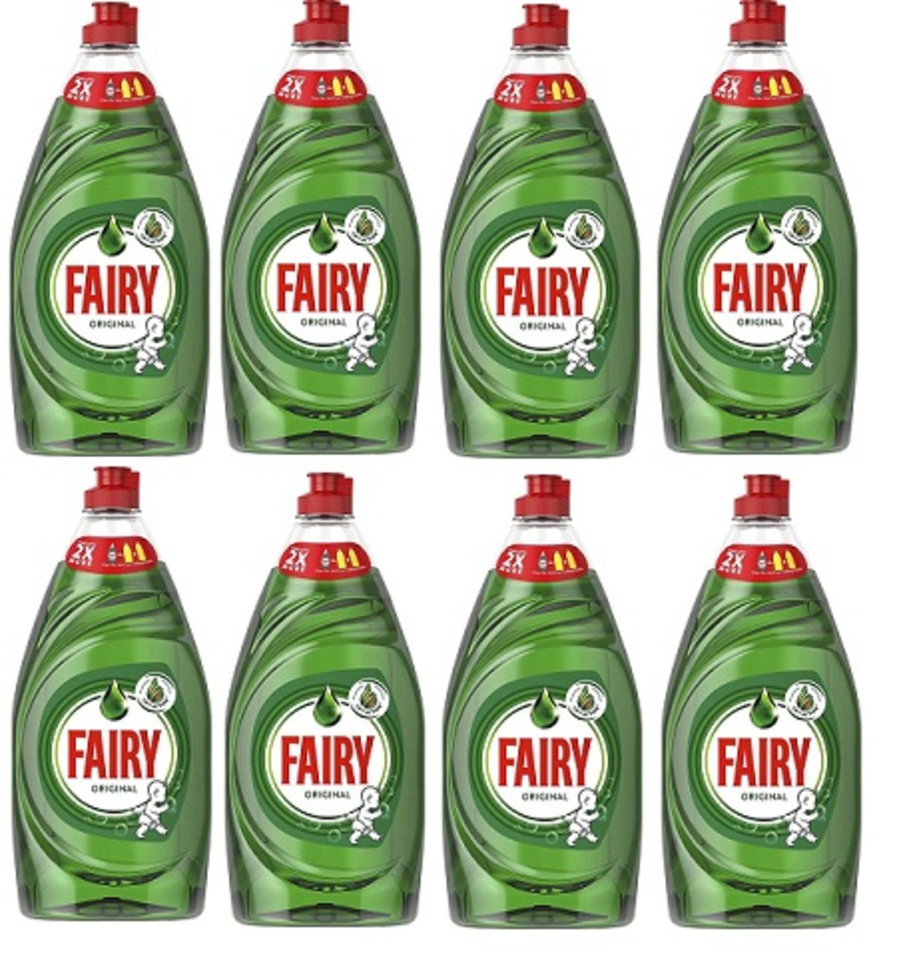 Lot 13767 - V Brand New Case Of Eight Bottles 780ml Fairy Original (ISP £12.99 eBay)