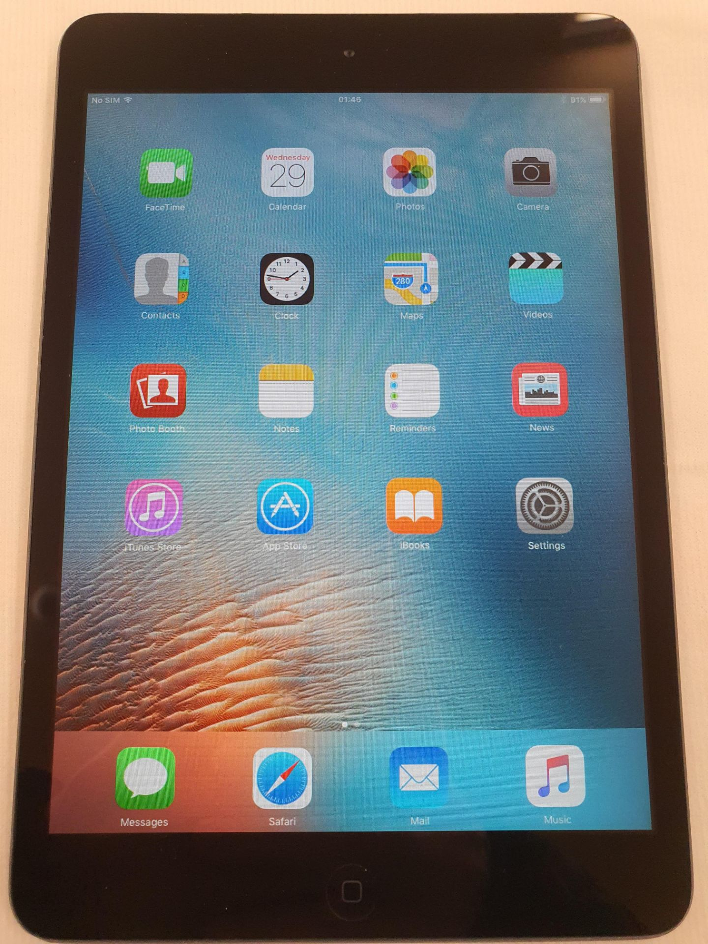 Lot 60056 - V Grade B Apple iPad Mini A1455 - Ex Lease (Has British Airways Engraving/Etching) - 16GB - Unit