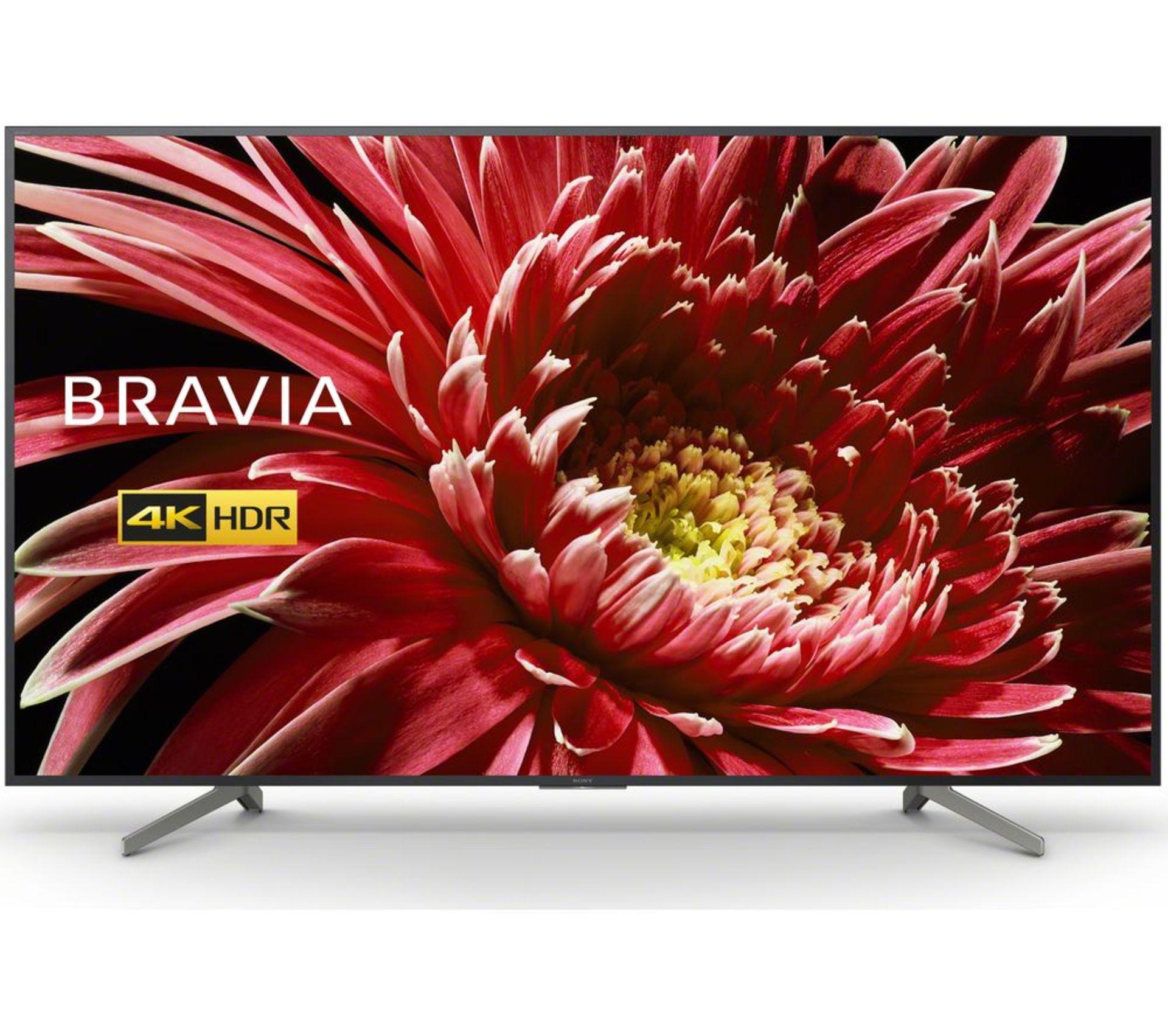 "Lot 60000 - V Brand New Sony Bravia 85"" 4K Ultra HD Smart LED TV - 4K Ultra HD 3840 x 2160p - Triluminos Display"