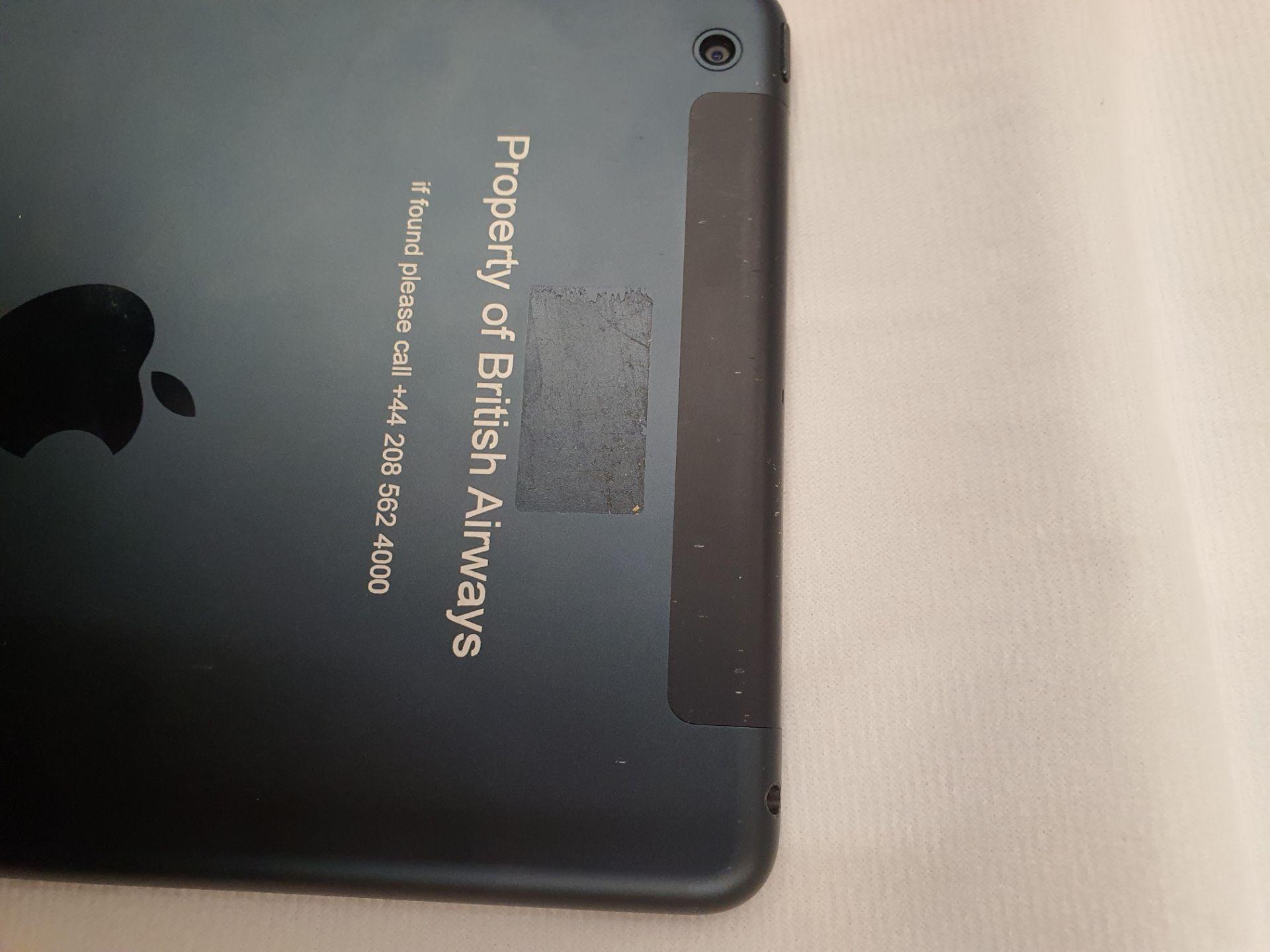 Lot 60054 - V Grade B Apple iPad Mini A1455 - Ex Lease (Has British Airways Engraving/Etching) - 16GB - Unit