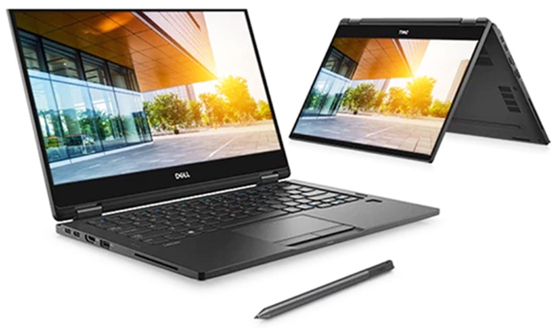 """Lot 59998 - V Brand New Dell Latitude 7390 - Intel Core I7-8650U - 16Gb Ram - 512Gb SSD - 13.3"""" 1920 x 1080"""