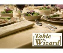 + VAT Brand New Luxury Stain Resistant Linen Table Cloth 160 x 210cm Gold - ISP £34.99 (islshop-UK)