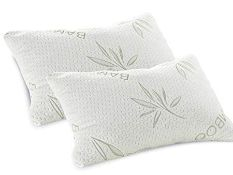 + VAT Brand New Memory foam pillow Eco cover resists mould and mites